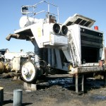 Shipment of non-operational 95-tonne mining trucks from Africa
