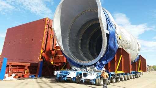 Nyrstar aluminium smelter furnace discharging at Port Pirie