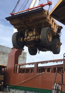 Heavy Lift cargo shipping
