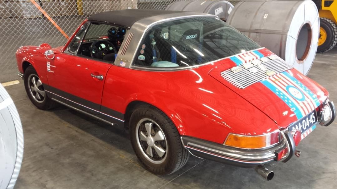 Shipping a 1969 Porsche 911T from UK to Savannah