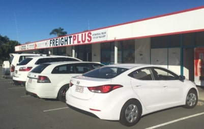Freightplus Newport office from outside
